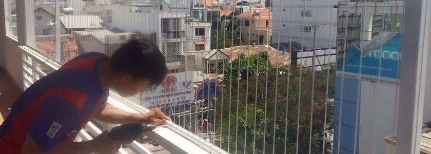 Lưới an toàn ban công chung cư giá rẻ