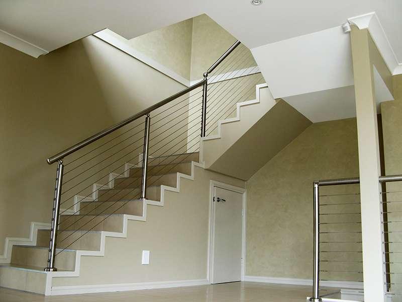 Cầu thang dây inox