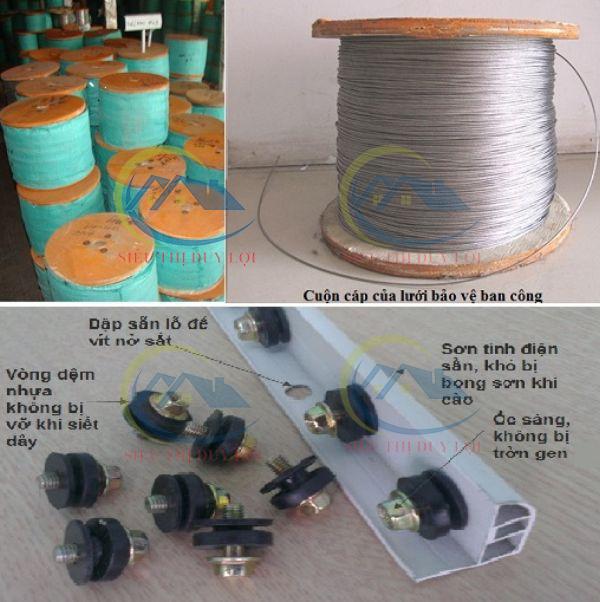 Địa chỉ bán dây cáp an toàn ban công tại TPHCM